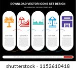 5 vector icons such as bike ... | Shutterstock .eps vector #1152610418