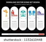5 vector icons such as... | Shutterstock .eps vector #1152610448