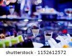 glass shots pastry  wedding... | Shutterstock . vector #1152612572