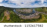 aerial view of bernkastel kues... | Shutterstock . vector #1152617582