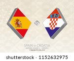 spain vs croatia  league a ... | Shutterstock .eps vector #1152632975