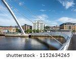 newcastle upon tyne england on...   Shutterstock . vector #1152634265