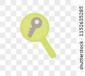 keywords vector icon isolated...   Shutterstock .eps vector #1152635285