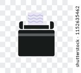 typewriter vector icon isolated ... | Shutterstock .eps vector #1152635462