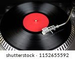 professional turntable close up.... | Shutterstock . vector #1152655592