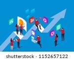 business team development | Shutterstock .eps vector #1152657122