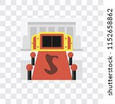 entrance vector icon isolated... | Shutterstock .eps vector #1152658862