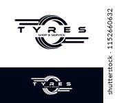tyre shop logo design   tyre... | Shutterstock .eps vector #1152660632