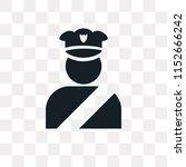 policeman figure vector icon...   Shutterstock .eps vector #1152666242