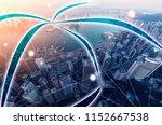 smart city concept images | Shutterstock . vector #1152667538