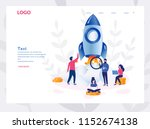 business start up concept for... | Shutterstock .eps vector #1152674138