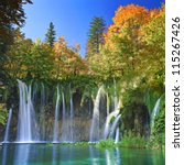 Plitvice Lakes Of Croatia  ...