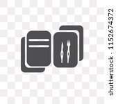 recipe vector icon isolated on... | Shutterstock .eps vector #1152674372