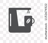 coffee maker vector icon... | Shutterstock .eps vector #1152674522