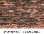 background of old brick wall...   Shutterstock . vector #1152675068