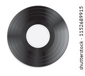 vinyl record  isolated on a... | Shutterstock .eps vector #1152689915