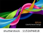colorful abstract design... | Shutterstock .eps vector #1152696818