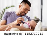 family  parenthood and people...   Shutterstock . vector #1152717212