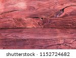 texture of old weathered wooden ... | Shutterstock . vector #1152724682