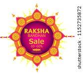 vector abstract for raksha... | Shutterstock .eps vector #1152735872
