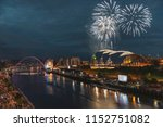 fireworks in newcastle upon...   Shutterstock . vector #1152751082