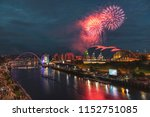 fireworks in newcastle upon...   Shutterstock . vector #1152751085