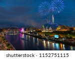 fireworks in newcastle upon...   Shutterstock . vector #1152751115