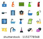 colored vector icon set  ...   Shutterstock .eps vector #1152778568