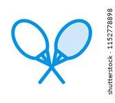 game. racket tennis.  | Shutterstock .eps vector #1152778898