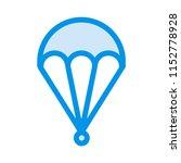 fly air. balloon.  | Shutterstock .eps vector #1152778928