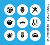 performance icon. 9 performance ... | Shutterstock .eps vector #1152792032