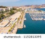 cartagena city port harbor... | Shutterstock . vector #1152813395