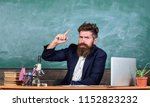 teacher bearded man tell... | Shutterstock . vector #1152823232