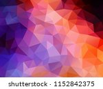 vector background from polygons ... | Shutterstock .eps vector #1152842375