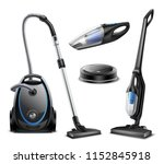 set of realistic vacuum... | Shutterstock .eps vector #1152845918