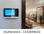 smart home in chinese restaurant | Shutterstock . vector #1152858632