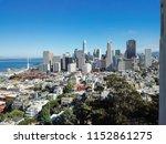 top view downtown financial... | Shutterstock . vector #1152861275