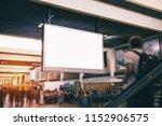 indoor advertising billboards. | Shutterstock . vector #1152906575