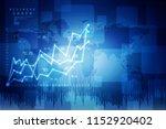 2d rendering stock market... | Shutterstock . vector #1152920402