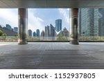 panoramic skyline and modern... | Shutterstock . vector #1152937805