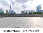panoramic skyline and modern... | Shutterstock . vector #1152937925