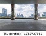 panoramic skyline and modern... | Shutterstock . vector #1152937952