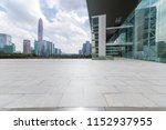 panoramic skyline and modern... | Shutterstock . vector #1152937955
