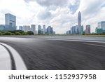 panoramic skyline and modern... | Shutterstock . vector #1152937958