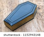 coffin leather journal  a book...   Shutterstock . vector #1152943148