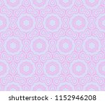 geometric floral ornament. for...   Shutterstock .eps vector #1152946208