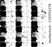 abstract grunge grid stripe... | Shutterstock .eps vector #1152951278