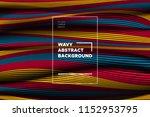 distortion of lines. modern... | Shutterstock .eps vector #1152953795