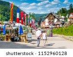 triberg  germany  july 14 2015  ... | Shutterstock . vector #1152960128