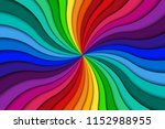 color spiral background  bright ... | Shutterstock .eps vector #1152988955